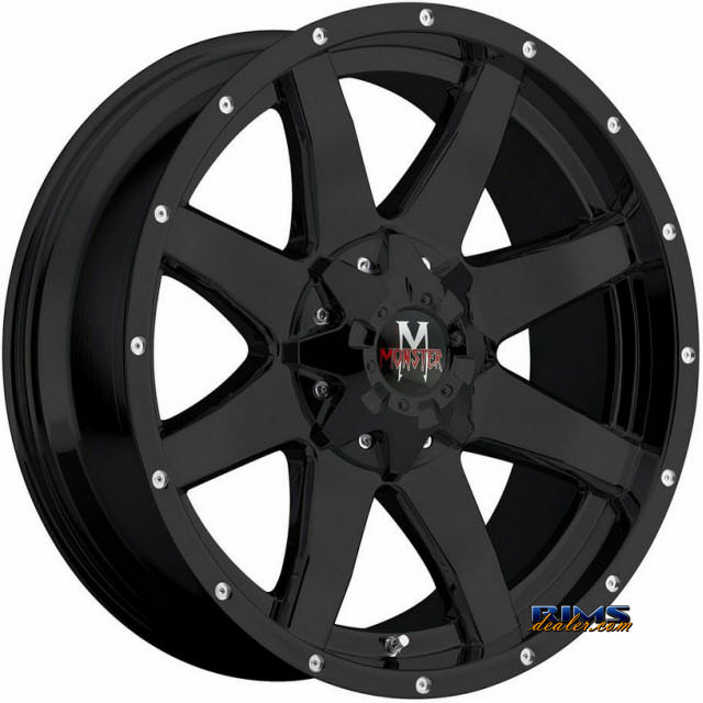 Pictures for Off-Road Monster M08 Black Flat