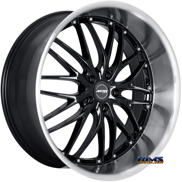Pictures for MRR Design GT-1 black gloss w/ machined