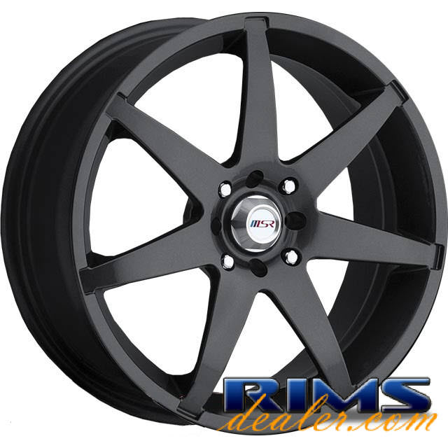 Pictures for MSR Style 126 gunmetal gloss