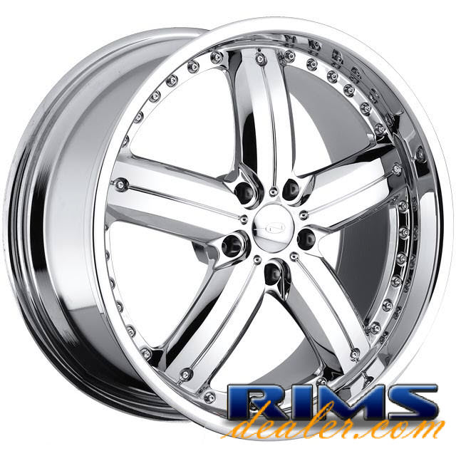 Pictures for JAVV (5-LUG) chrome