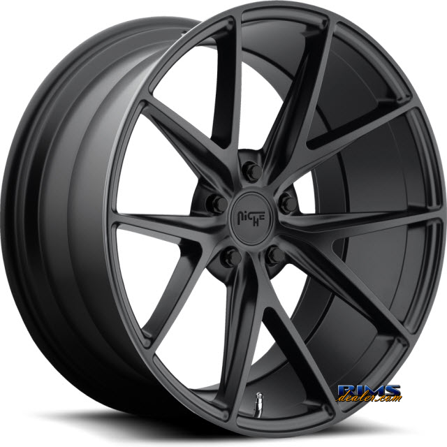 Pictures for NICHE Misano M117 black flat