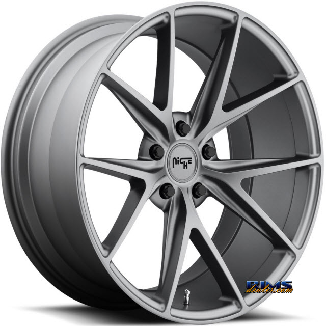 Pictures for NICHE Misano M116 gunmetal flat