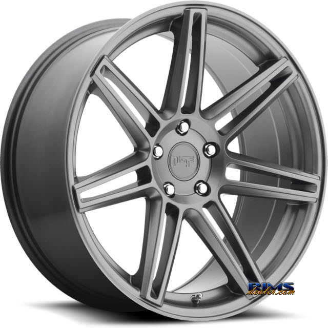 Pictures for NICHE LUCERNE - M145 gunmetal flat