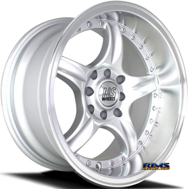 Pictures for NS Drift Wheels DC01 Machined w/ Silver