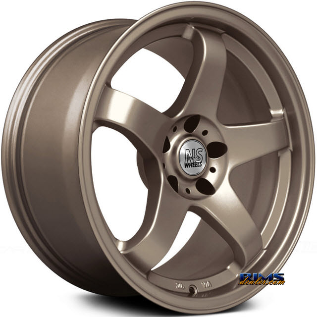 Pictures for NS Drift Wheels M01 Bronze Flat