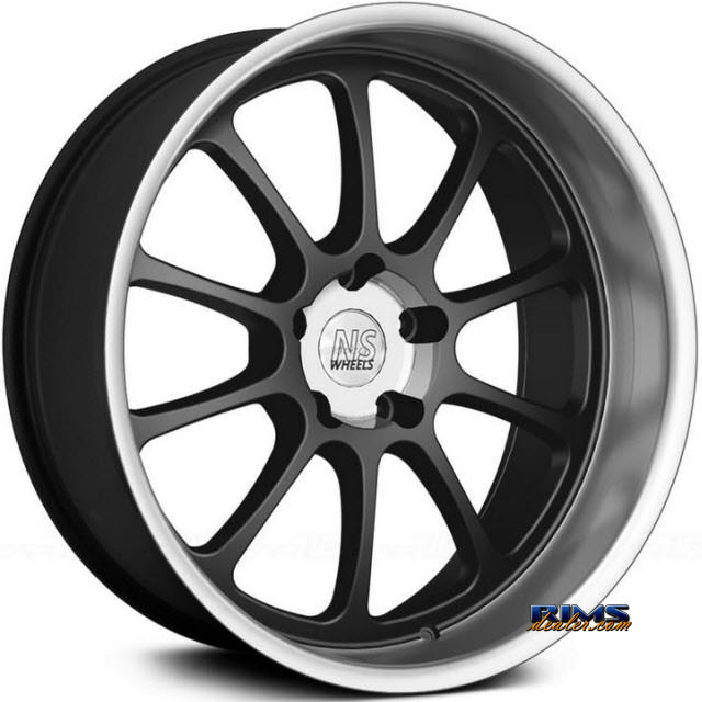 Pictures for NS Drift Wheels TEN Machined w/ Black