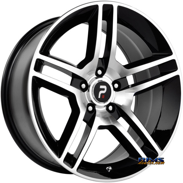 Pictures for OE Performance Wheels 101MB Machined w/ Black