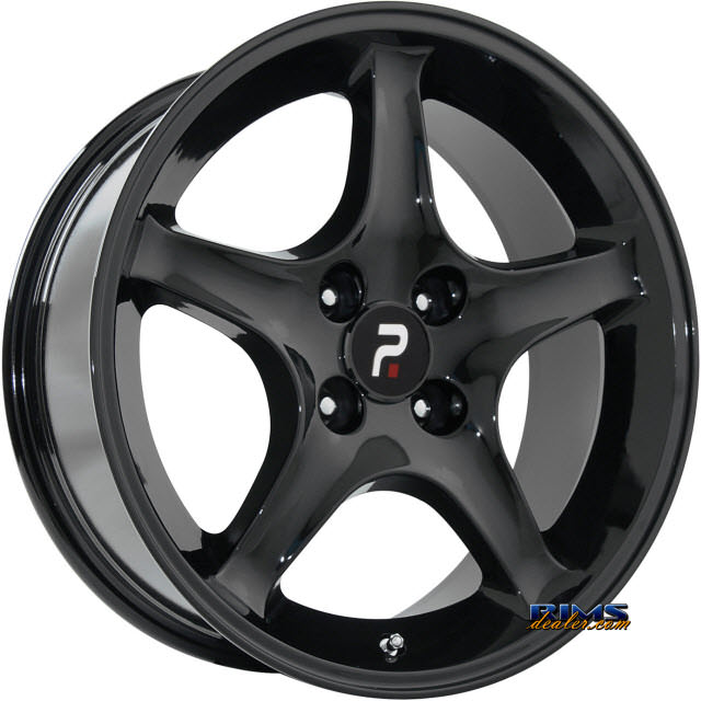 Pictures for OE Performance Wheels 102B Black Gloss