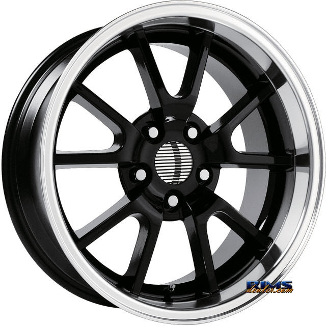 Pictures for OE Performance Wheels 118B Machined w/ Black