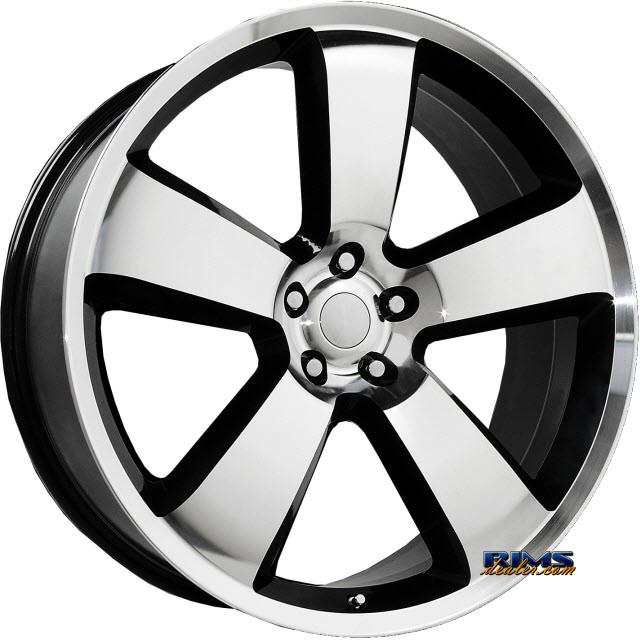 Pictures for OE Performance Wheels 119B Machined w/ Black