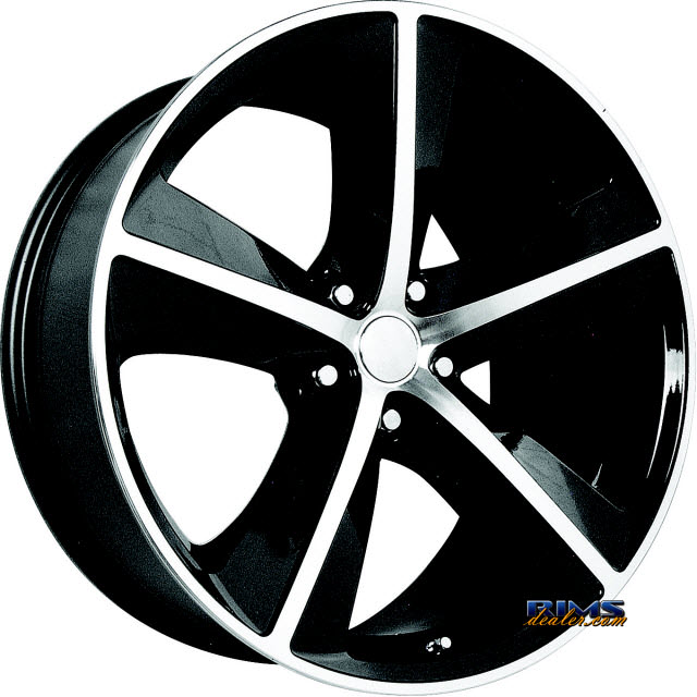 Pictures for OE Performance Wheels 123B Machined w/ Black