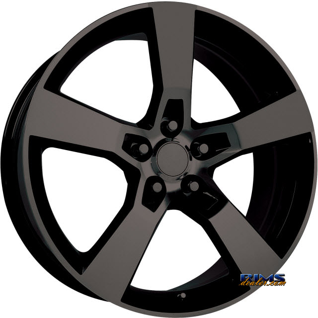 Pictures for OE Performance Wheels 124MB Black Flat
