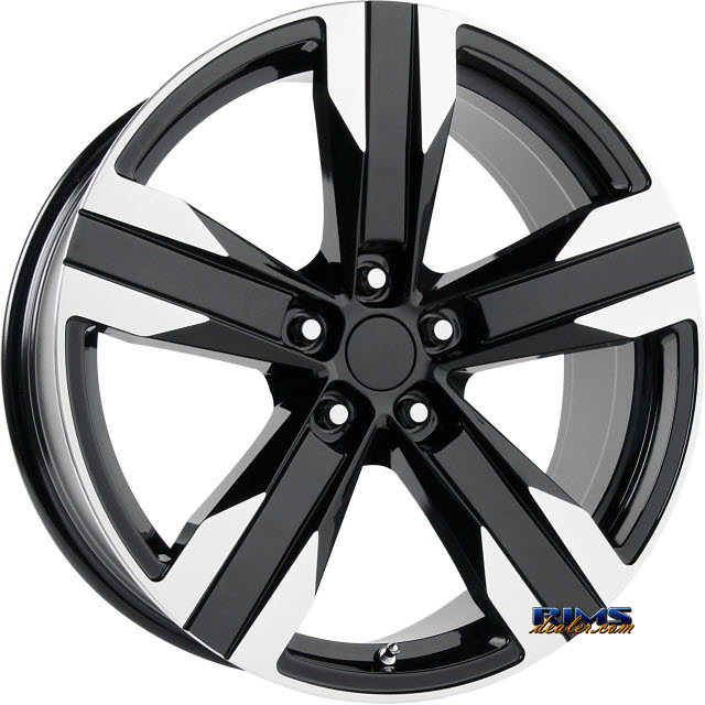 Pictures for OE Performance Wheels 135B Machined w/ Black
