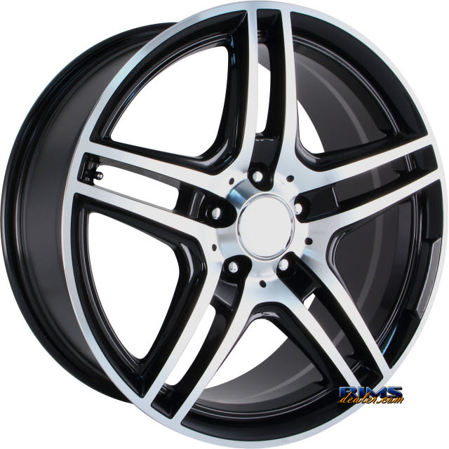 Pictures for OE Performance Wheels 136B Machined w/ Black