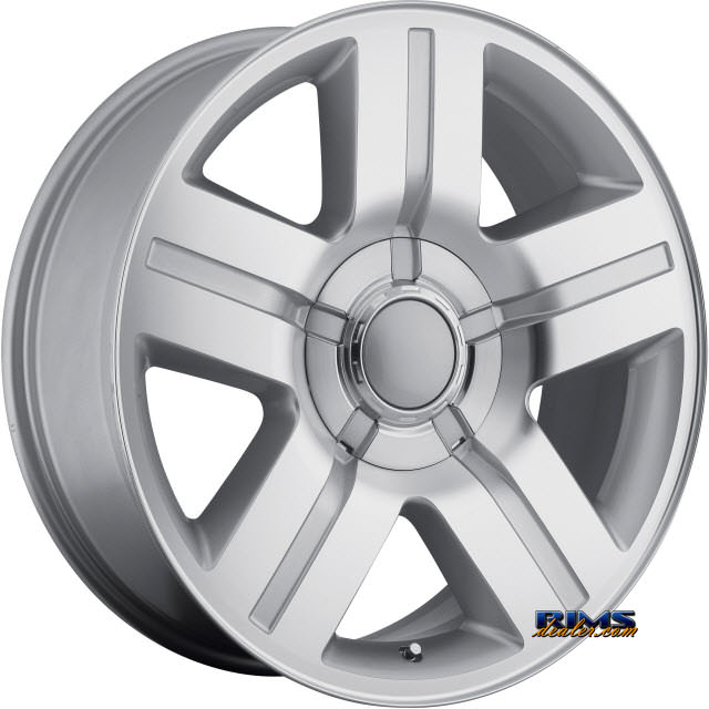 Pictures for OE Performance Wheels 147S Machined w/ Silver