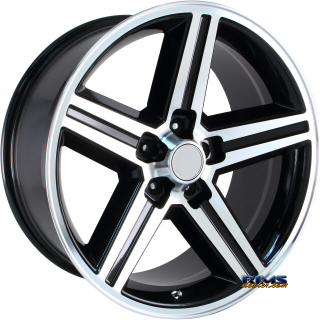 Pictures for OE Performance Wheels 148B Machined w/ Black