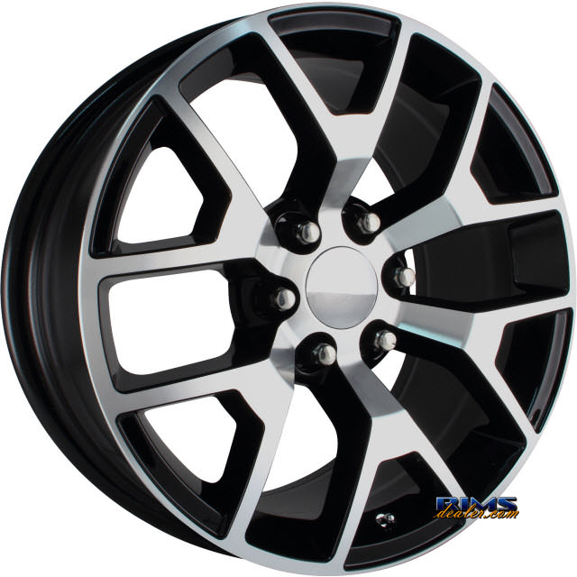 Pictures for OE Performance Wheels 150B Machined w/ Black