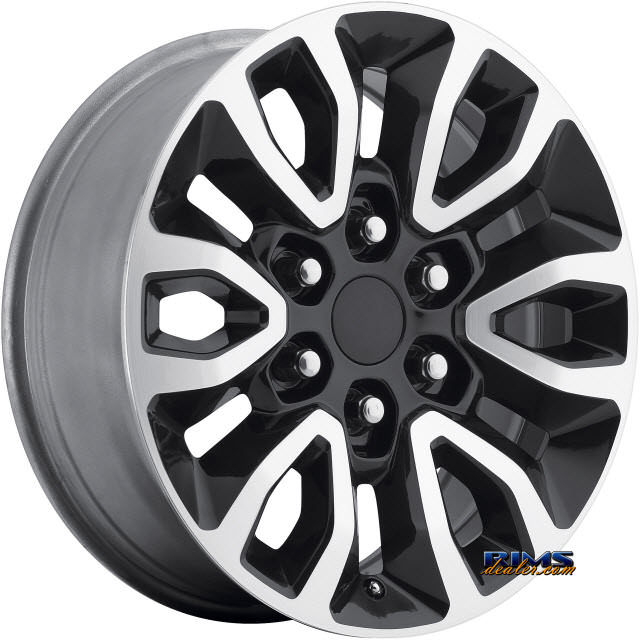 Pictures for OE Performance Wheels 151GB Machined w/ Black
