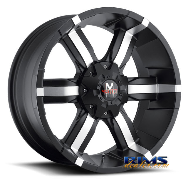 Pictures for Off-Road Monster M06 machined w/ black