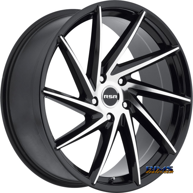 Pictures for RSR Wheels R701 Machined w/ Black