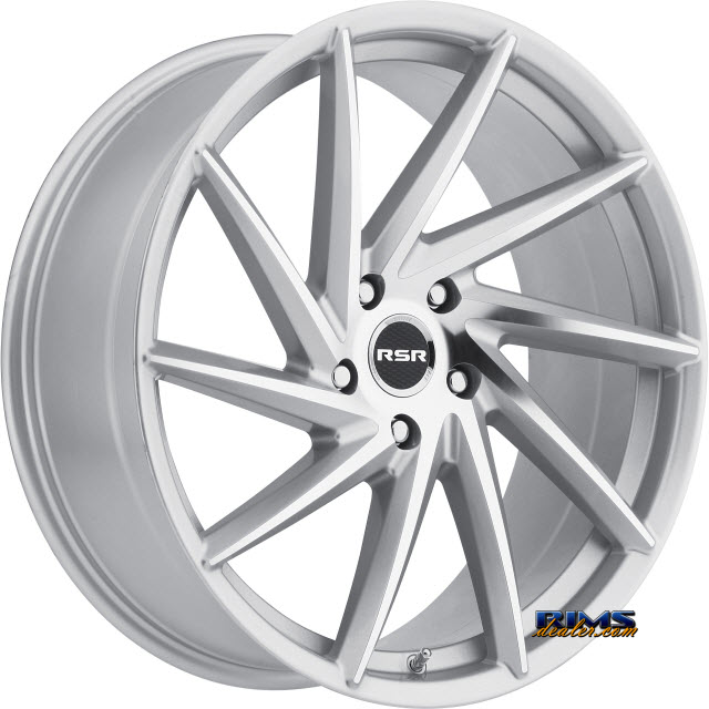 Pictures for RSR Wheels R701 machined w/ silver
