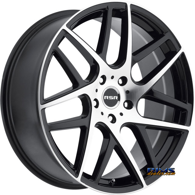 Pictures for RSR Wheels R702 Machined w/ Black