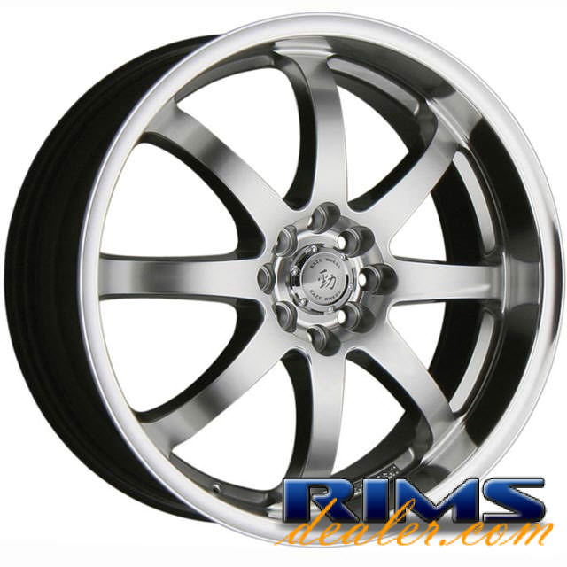 Pictures for Raze Wheels R51 hyperblack