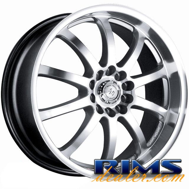 Pictures for Raze Wheels R51 hypersilver