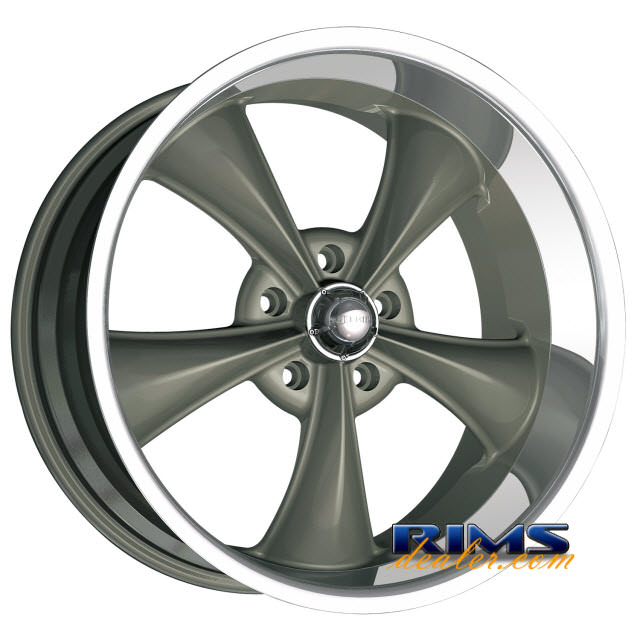 Pictures for Ridler Wheels 695 machined w/ gunmetal
