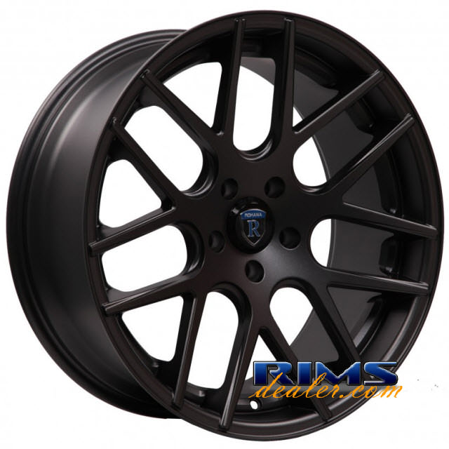 Pictures for Rohana RC26 black flat