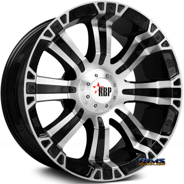 Pictures for RBP Off-road 94-R Machined w/ Black