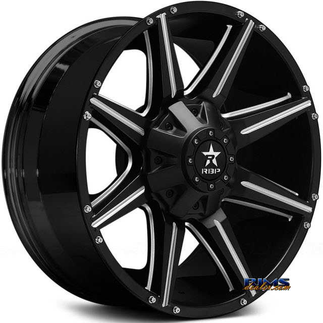 Pictures for RBP Off-road 98-R CNC Accents Black Gloss