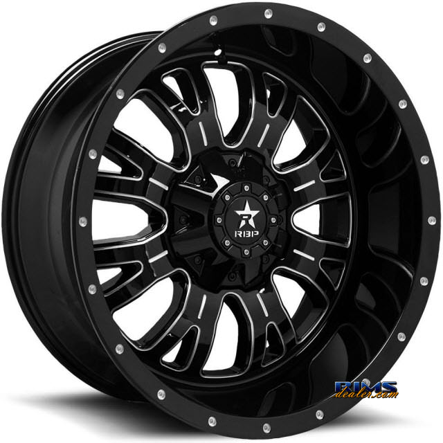 Pictures for RBP Off-road Assassin-2 89-R Machined w/ Black