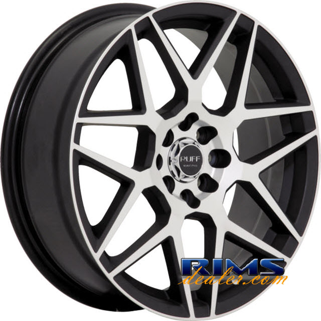 Pictures for RUFF RACING R351 black flat w/ machined