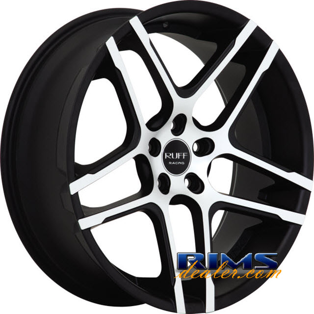 Pictures for RUFF RACING R954 black flat w/ machined