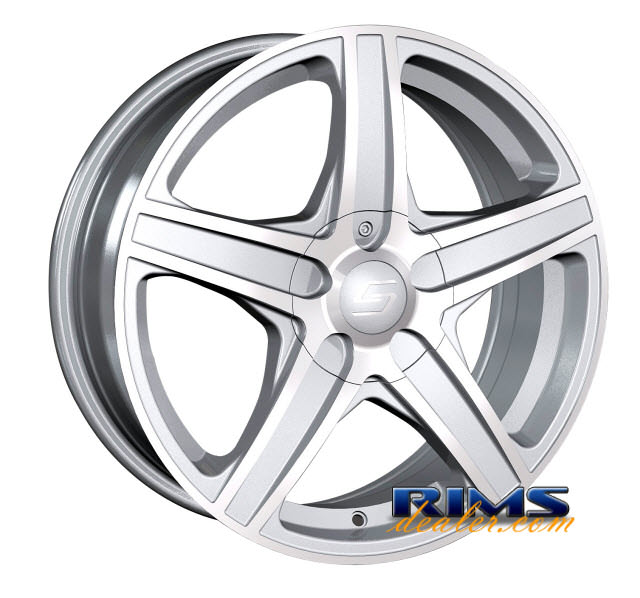 Pictures for Sacchi Custom Wheels S48 hypersilver