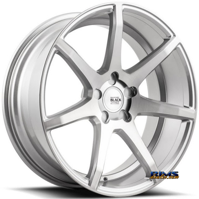 Pictures for Savini Wheels BM-10 - Custom (Add $200ea. for painting) Silver Flat