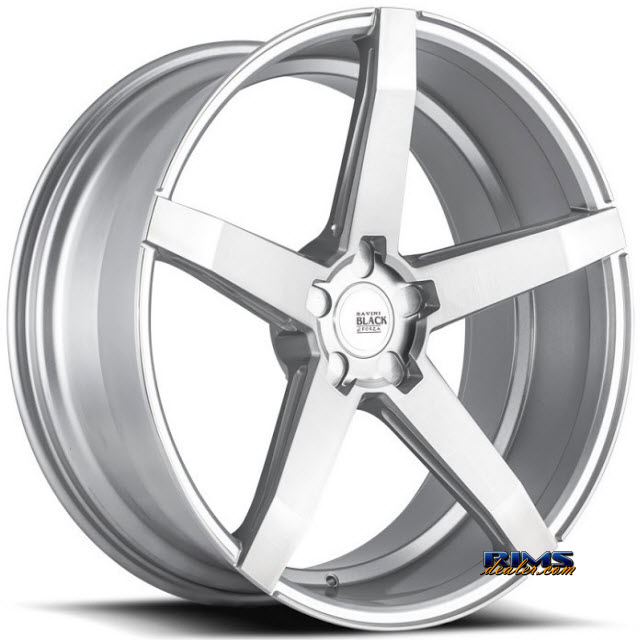 Pictures for Savini Wheels BM-11 - Custom (Add $200ea. for painting) Silver Flat