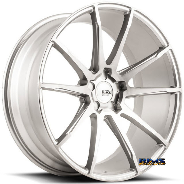 Pictures for Savini Wheels BM-12 - Custom (Add $200ea. for painting) Silver Flat