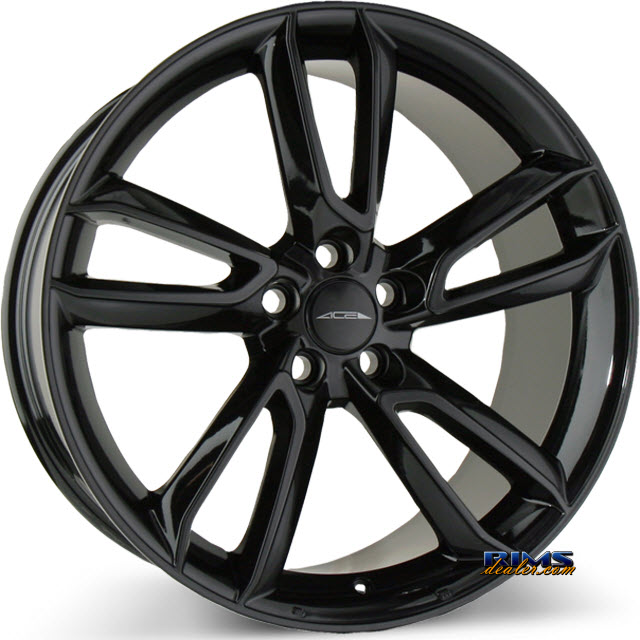 Pictures for Ace Alloy SCORPIO C902 black gloss