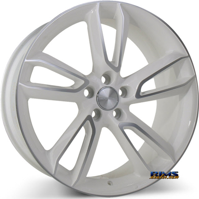Pictures for Ace Alloy SCORPIO C902 machined w/ white
