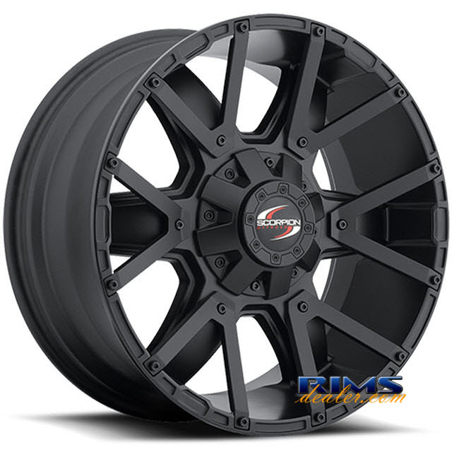 Pictures for Scorpion Off-road SC9 black flat