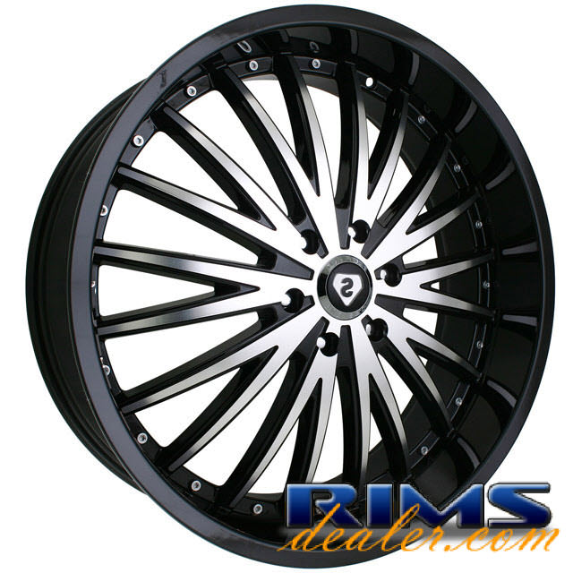 Pictures for Sovrano S12 machined w/ black
