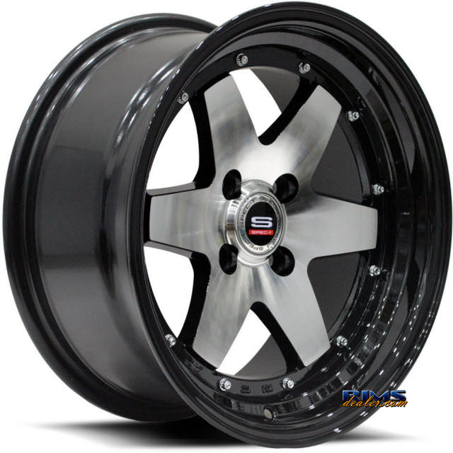 Pictures for Spec 1 Track SPT-9 black gloss w/ machined