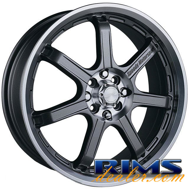 Pictures for SPEEDY Lite-7 gunmetal flat