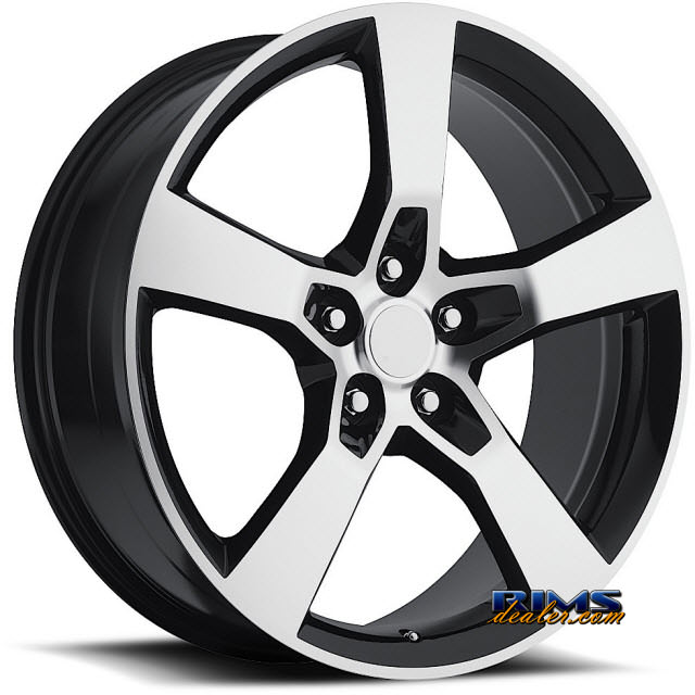 Pictures for Vision Wheel Sport Concepts 860 black flat w/ machined