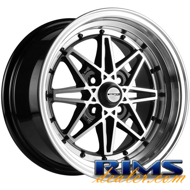 Pictures for STANCE WHEELS Emotion machined w/ black