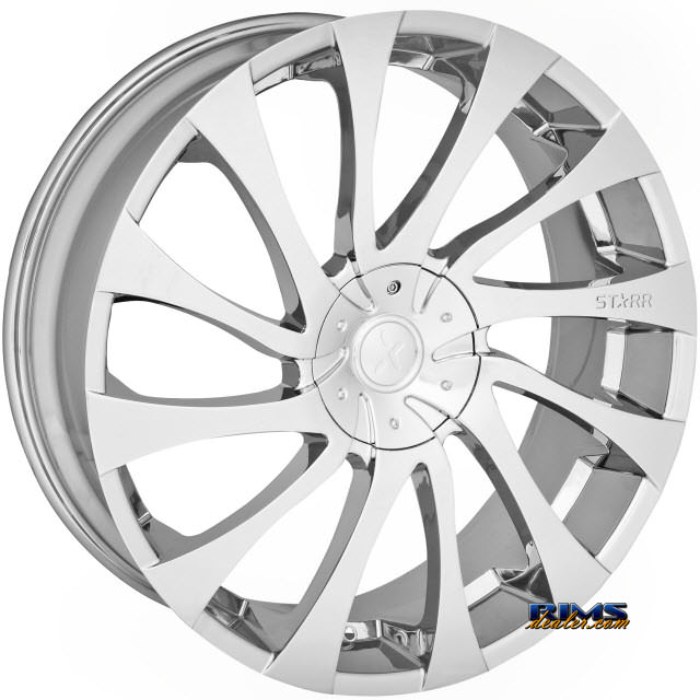 Pictures for STARR ALLOY WHEEL 718 GATSBY chrome