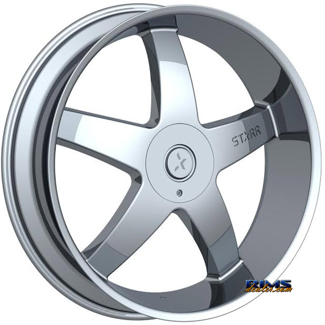 Pictures for STARR ALLOY WHEEL 223 OHIO Chrome