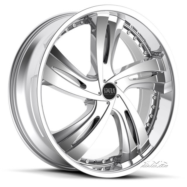 Pictures for STATUS Fantasy S835 (5-lug only) chrome